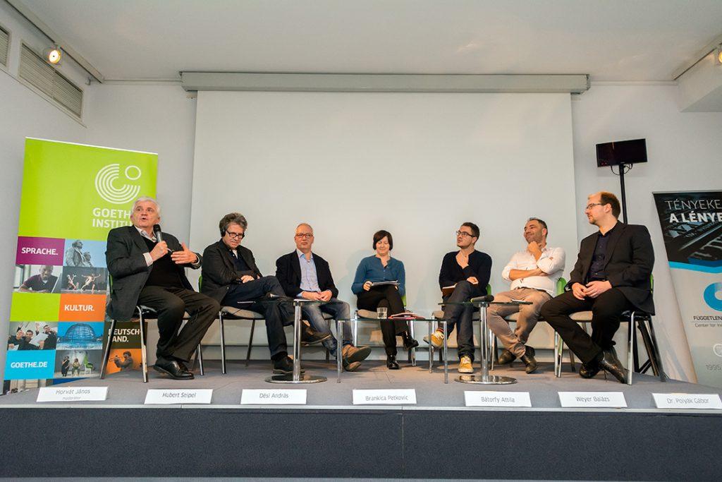 Kerekasztal-beszélgetés (©Goethe-Institut Foto: Felvégi Andrea)