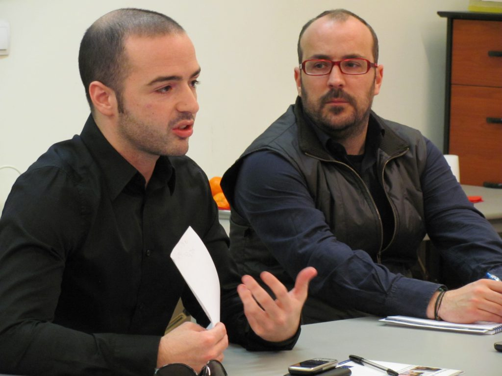 Gyulai Gábor 2011 februárjában előadást tartott a Független Médiaközpontban