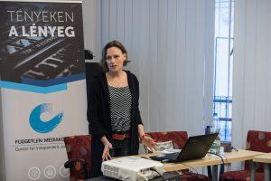 Dr. Bodrogi Bea jogász előadást tart az utcai fotózás jogszabályi hátteréről